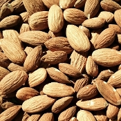 5 lb Box of Unpasteurized Raw Organic Almonds ($9/lb)
